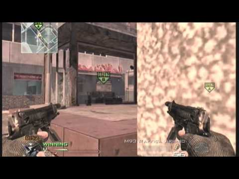(HD) MW2 Search And Destroy :: Last Man Standing/ Spot And Match winning kill glitch