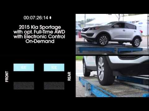 Subaru AWD Driving Traction vs. The Competition 2015 Version