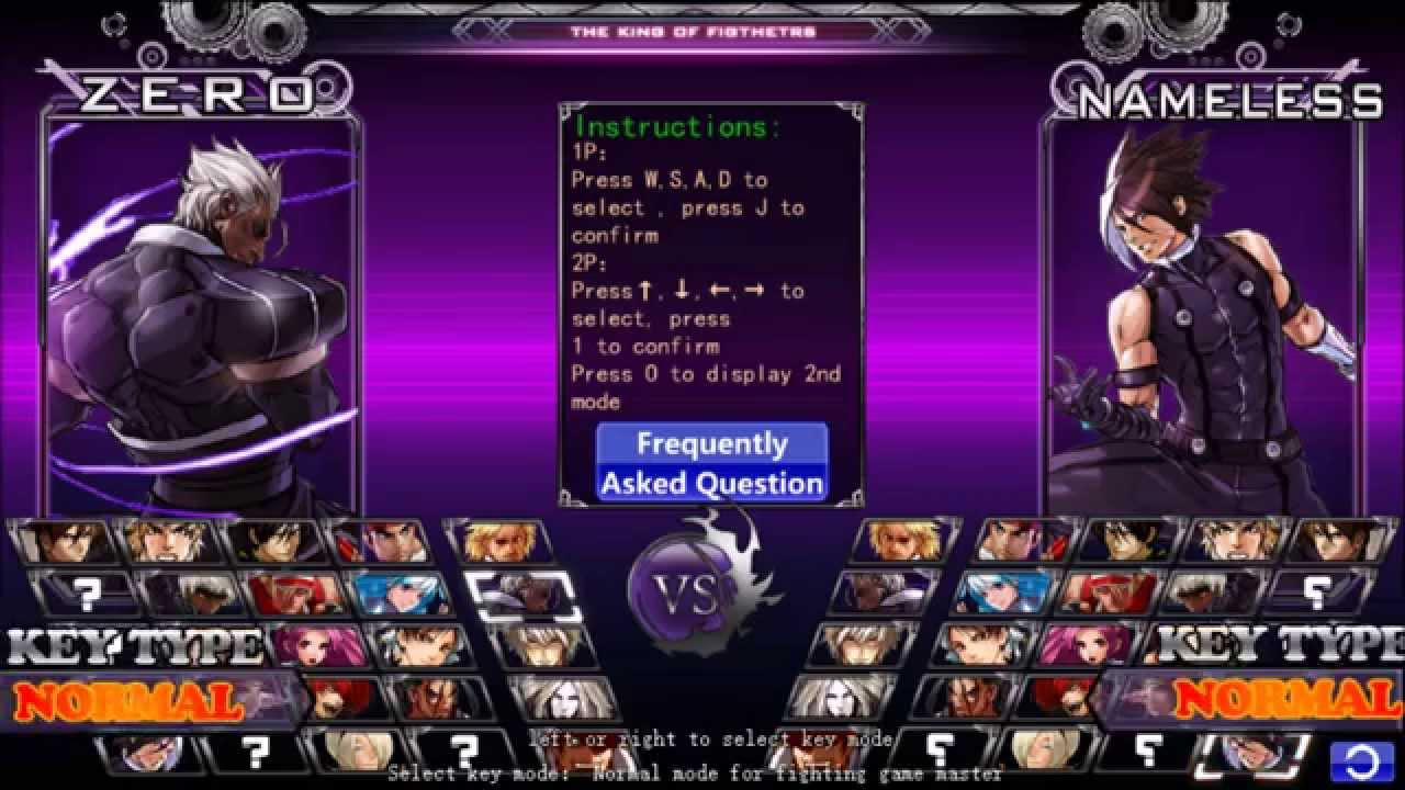 Kofwing EX v1 02 The King Of Fighters Wing download