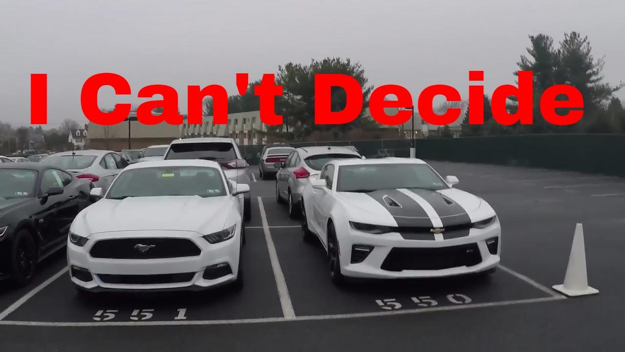 Camaro 2017 Gt >> 2017 Camaro Ss Vs 2017 Mustang Gt Youtube