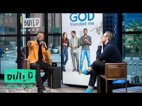 """Brandon Micheal Hall Talks His Role In """"God Friended Me"""""""