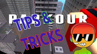 Roblox | Parkour | Tips and Tricks!