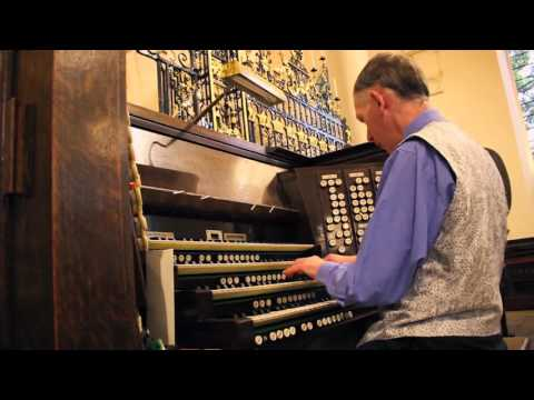 David Aprahamian Liddle performs at Derby Cathedral September 16 2015 HD