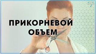 Прикорневой ОБЪЕМ / Ножницами / haircut Tutorial / Техника стрижки