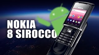 Nokia 8 Sirocco на Android One