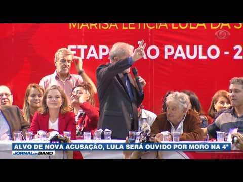 Alvo de nova acusação, Lula será ouvido por Moro nesta quarta