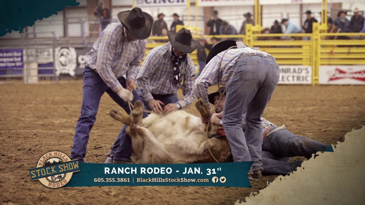 Black Hills Stock Show 2017 Ranch Rodeo And Broncs For
