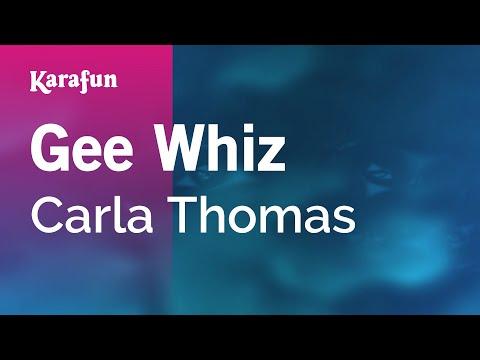 Karaoke Gee Whiz - Carla Thomas *