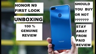 HONOR 9N UNBOXING || FULL REVIEW || TFT SCREEN QUALITY || SHOULD YOU BUY OR NOT ?? ||
