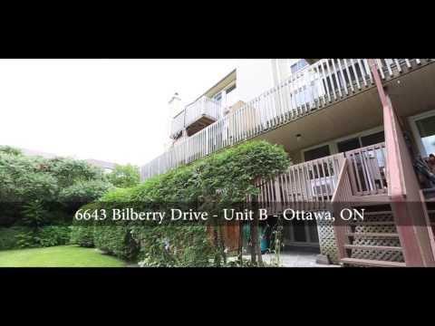 Prime Orleans Location!!!  6643B Bilberry Drive, Ottawa