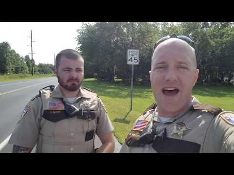 Das Chisago County Sheriff's Office erklärt die Spielregeln für ganz Doofe!