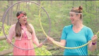 Amandine et Rosalie explorent les ravins