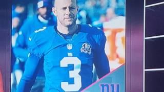 Karceno on New York Giants Kicker Josh Brown domestic abuse situation