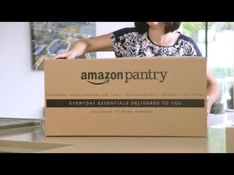 Amazon.de präsentiert Pantry - die neue Vorratskammer in der Box