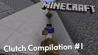 Minecraft PE - Clutch Compilation #1 (Lifeboat CTF)