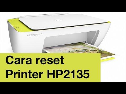 Cara reset printer Hp 2135 yang kedip mudah 100%.