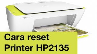 Cara reset printer hp ink advantage 2135 yang kedip
