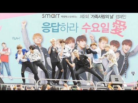 [4K] [160604] 방탄소년단 BTS - 불타오르네 FIRE (스마트 가족사랑의 날 캠페인) 직캠/Fancam By PIERCE