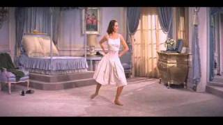 Cyd Charisse is wearing Silk stockings