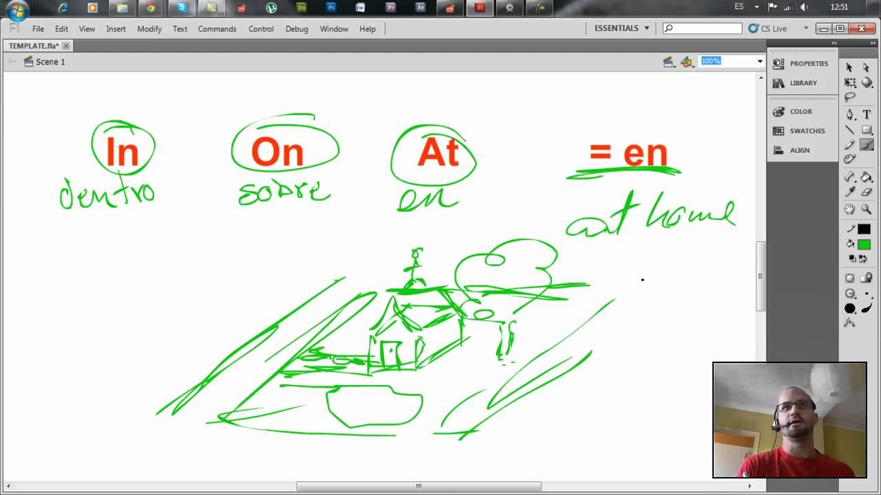 In on y at clase sobre la diferencia entre estas for Diferencia entre yeso y escayola