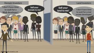 Investing in Domains and Websites (Digital/Intangible Assets) Explained in One Minute