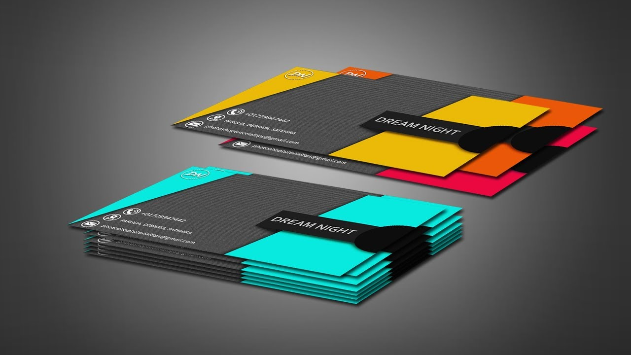 Colorful How To Make Professional Business Cards Inspiration