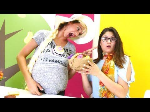 Ayşe ve Asu Ela ile komik videolar! Çocuk videosu