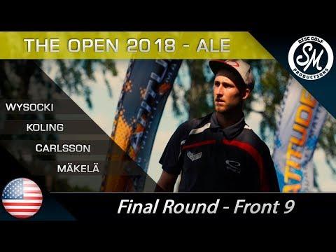 The Open 2018   Final Round Front 9   Wysocki, Koling, Mäkelä, Carlsson