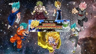 TOP 7 BEST TEAMS FOR THE 15th WORLD TOURNAMENT AT 20x DIFFICULTY (DOKKAN BATTLE GLOBAL)