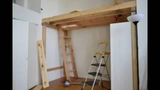 видео Деревянные кровати своими руками: схемы, чертежи. Как сделать деревянную кровать своими руками