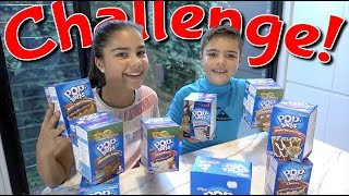 Pop Tart Challenge | Grace's Room