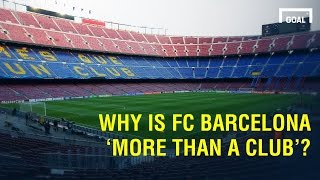 We went in the streets of barcelona to ask fans why fc is considered 'mes que un club', 'more than a club'. subscribe goal: https://www.yout...
