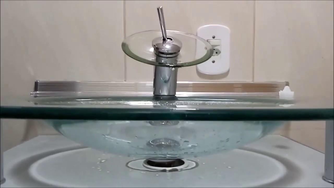 Kit Bancada Banheiro Vidro : Instalando gabinete com bancada de vidro no banheiro