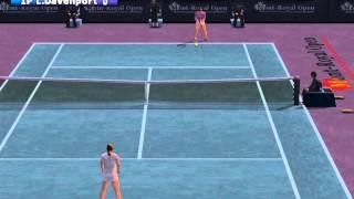 Climax Tennis WTA Tour Edition Gameplay PCSX2 R5703 HD 1080p PS2