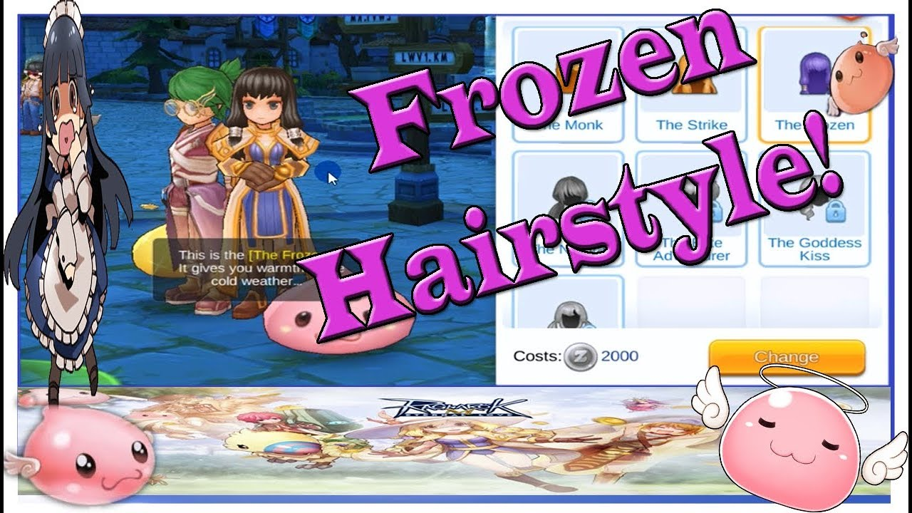 ragnarok eternal love mobile frozen hairstyle and undersea expedition quest