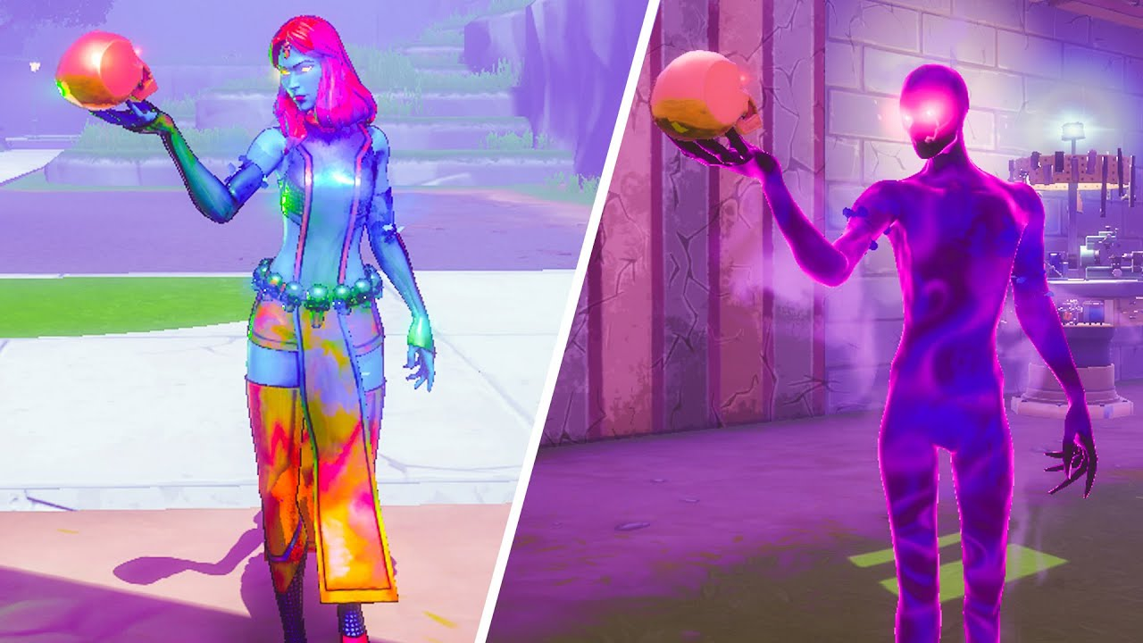what happened if you used mystique emote after killing shadow - Fortnite
