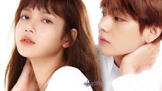 BTS Taehyung & Lisa BLACKPINK | Taelice moments @SMA2018 (Full.ver )