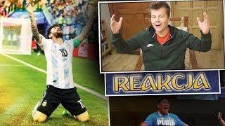 NIGERIA 1:2 ARGENTYNA!!! REAKCJA NA MECZ