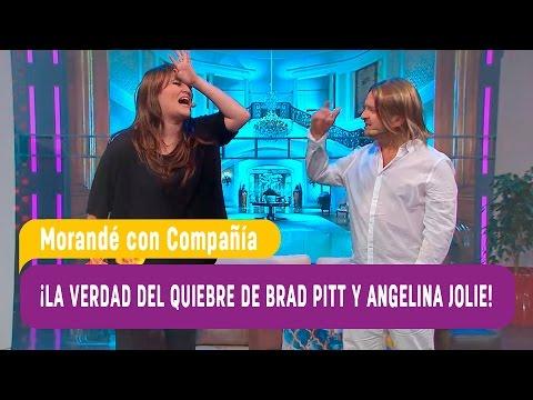 La verdad sobre el quiebre de Brad Pitt y Angelina Jolie - Morandé con Compañía 2016