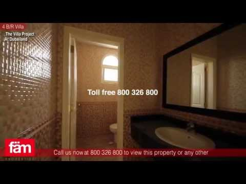 4 B/R  Custom Built Villa For Sale, The Villa Project - Dubailand, UAE
