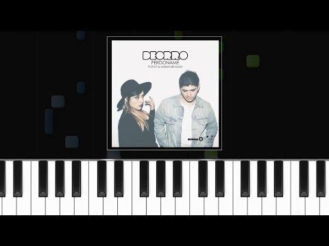 "Deorro Feat. Adrian Delgado & DyCy - ""Perdoname"" Piano Tutorial - Chords - How To Play - Cover"