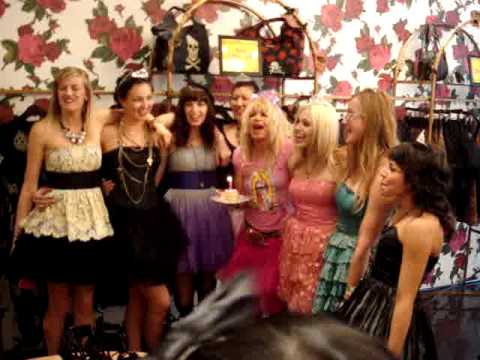 Betsey Johnson Birthday Store Visit to Soho