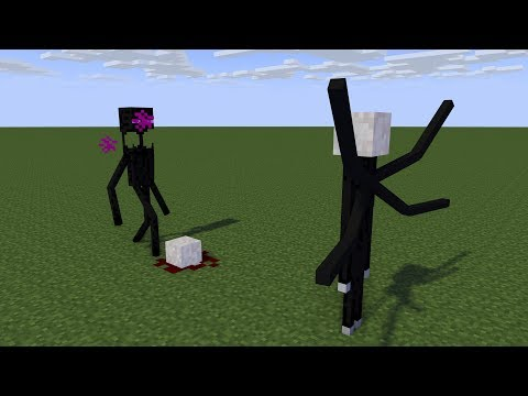 Enderman Vs Slenderman Rematch