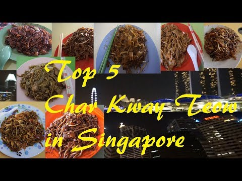 In my opinion, Top 5 Char Kway Teow in Singapore. Yummy Yumm