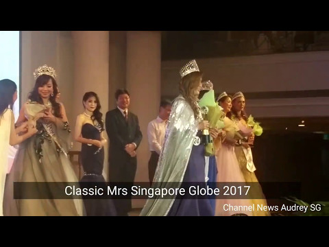 Crowning Classic Mrs Singapore Globe 2017 - Jessica 陳秋兰