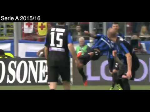 Golazo de Mauricio Pinilla vs AC Milan, Atalanta 2 - 1 AC Milan, Goles y Resumen, Serie A 2016