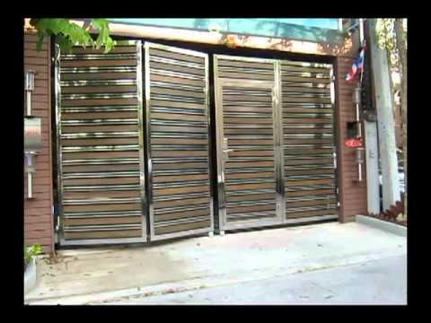 Folding Amp Swing Gates Youtube