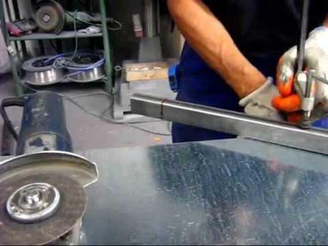 Come tagliare un tubolare in acciaio o alluminio youtube