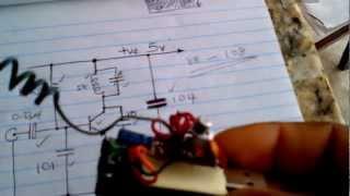 HecaWorld USB One-Transistor FM Transmitter