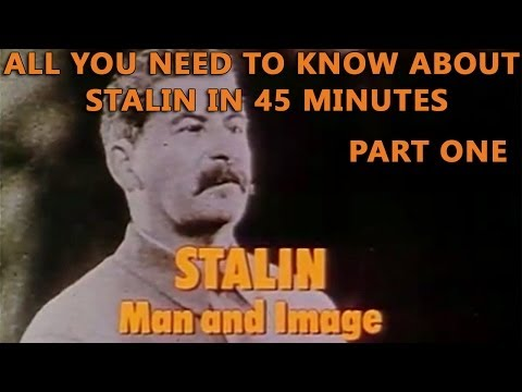 Stalin - Man and Image